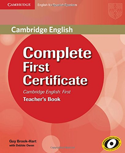 9788483237502: Complete First Certificate for Spanish Speakers Teacher's Book