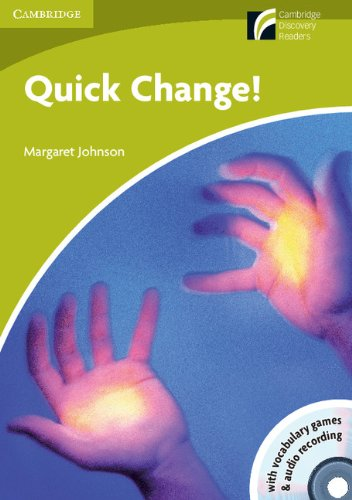 9788483237564: Quick Change! Level Starter/Beginner with CD-ROM/Audio CD (Cambridge Discovery Readers)