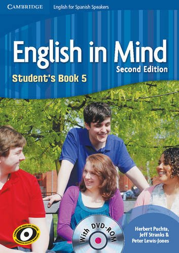 9788483237588: English in Mind for Spanish Speakers 5 Student's Book with DVD-ROM - 9788483237588