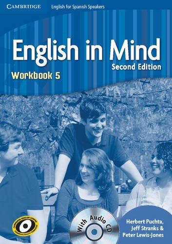 9788483237595: English in Mind for Spanish Speakers 5 Workbook with Audio CD - 9788483237595
