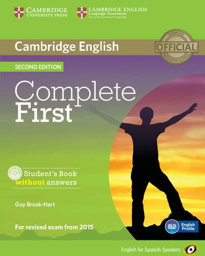 9788483238127: Complete First for Spanish Speakers Student's Book without Answers with CD-ROM