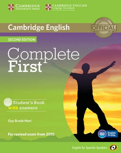 9788483238158: Complete First for Spanish Speakers Student's Book with Answers with CD-ROM Second Edition