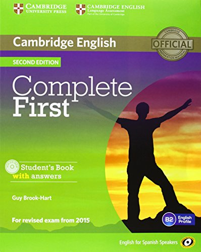 9788483238318: Complete First for Spanish Speakers Student's Pack with Answers (Student's Book with CD-ROM, Workbook with Audio CD)