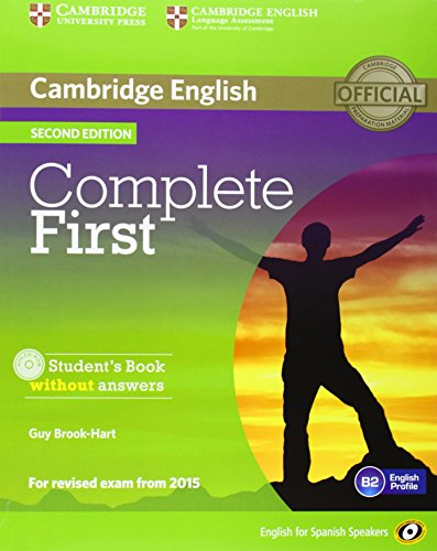 9788483238332: Complete First for Spanish Speakers Student's Pack without Answers (Student's Book with CD-ROM, Workbook with Audio CD) 2nd Edition
