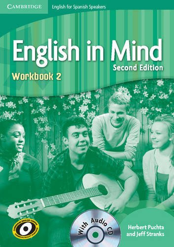 9788483238417: English in Mind for Spanish Speakers 2 Workbook with Audio CD - 9788483238417