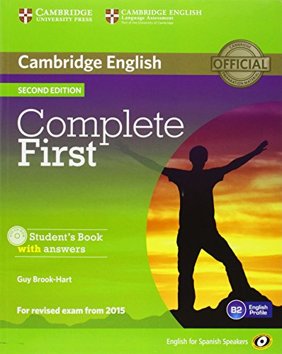 9788483238448: Complete First for Spanish Speakers Self-Study Pack (Student's Book with Answers, Class Audio CDs (3))