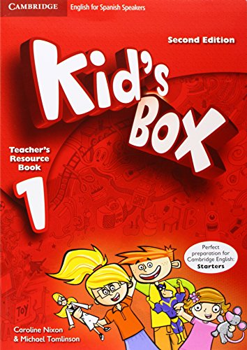 9788483238462: Kid's Box for Spanish Speakers Level 1 Teacher's Resource Book with Audio CD Second Edition - 9788483238462