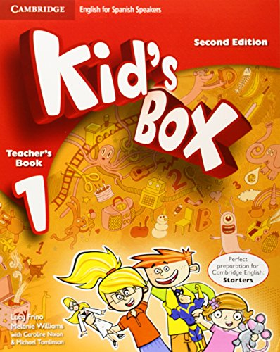 9788483238592: Kid's Box for Spanish Speakers Level 1 Teacher's Book Second Edition - 9788483238592