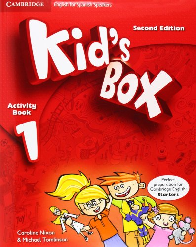 9788483238622: Kid's Box for Spanish Speakers Level 1 Activity Book with CD-ROM and Language Portfolio Second Edition - 9788483238622