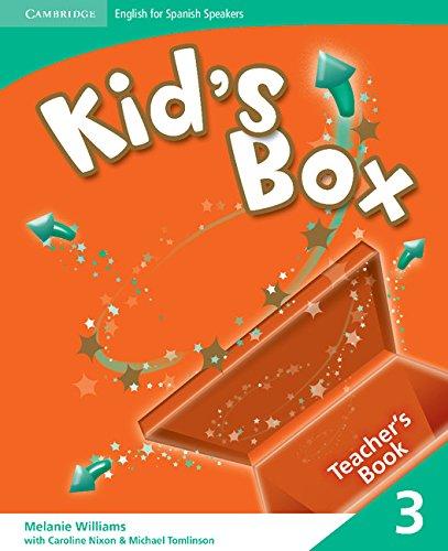 9788483238684: Kid's Box for Spanish Speakers 3 Teacher's Book - 9788483238684