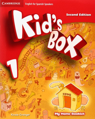 9788483238707: Kid's Box for Spanish Speakers Level 1 Pupil's Book with My Home Booklet Second Edition - 9788483238707