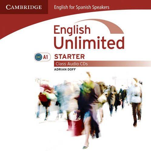 9788483238714: English unlimited for spanish speakers starter class audio cds (2) (Edición para España)