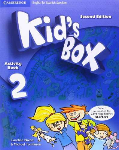 9788483239544: Kid's Box for Spanish Speakers Level 2 Activity Book with CD-ROM and Language Portfolio Second Edition - 9788483239544
