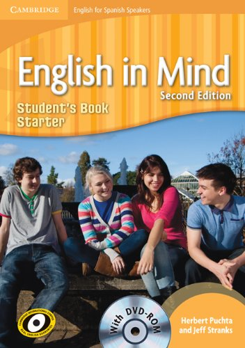 9788483239551: English in Mind for Spanish Speakers Starter Student's Book with DVD-ROM - 9788483239551
