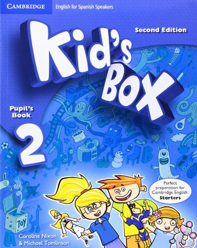 9788483239568: Kid's Box for Spanish Speakers Level 2 Pupil's Book with My Home Booklet Second Edition - 9788483239568