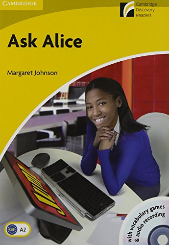 9788483239582: Ask Alice Level 2 Elementary/Lower-intermediate with CD-ROM/Audio CD