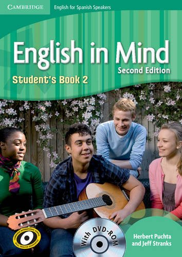 9788483239636: English in Mind for Spanish Speakers 2 Student's Book with DVD-ROM - 9788483239636
