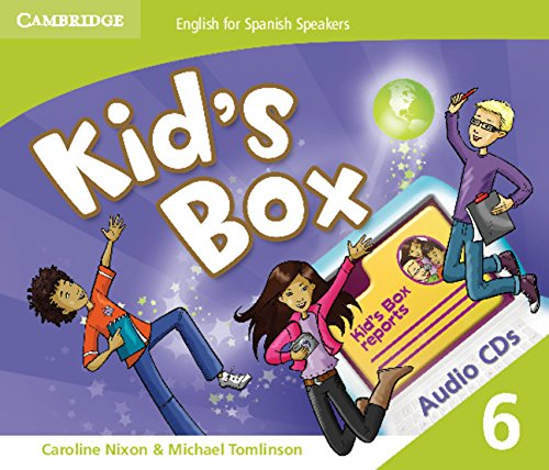 9788483239728: Kid's Box for Spanish Speakers Level 6 Audio Cds (4)