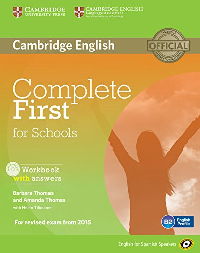 9788483239858: Complete First for Schools for Spanish Speakers Workbook with Answers with Audio CD