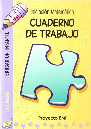 9788483251362: Cuaderno de Trabajo - Emi 3-4 a¿os: Iniciación Matemática