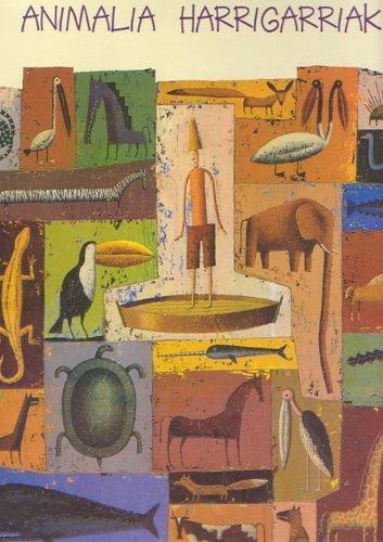 9788483256763: Animalia harrigarriak (HAURRENTZAKO ALBUMAK)