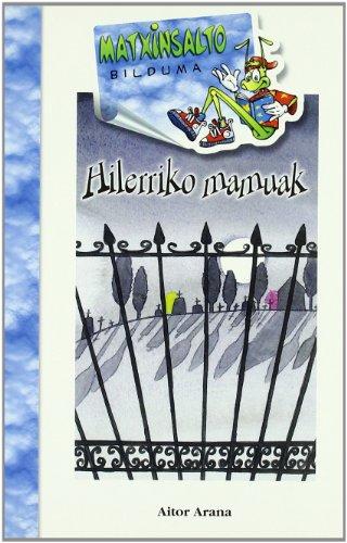9788483258156: Hilerriko mamuak (Matxinsalto)