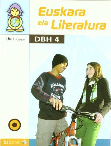 9788483258460: Euskara eta Literatura -DBH 4-: I.Bai proiektua