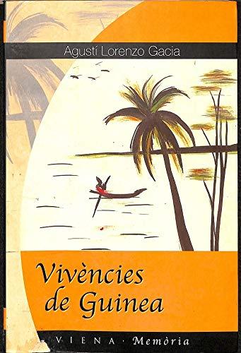 9788483301319: Vivències de Guinea (Memoria)