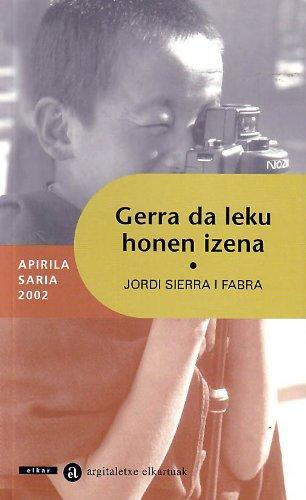 9788483318614: GERRA DA LEKU HONEN IZENA