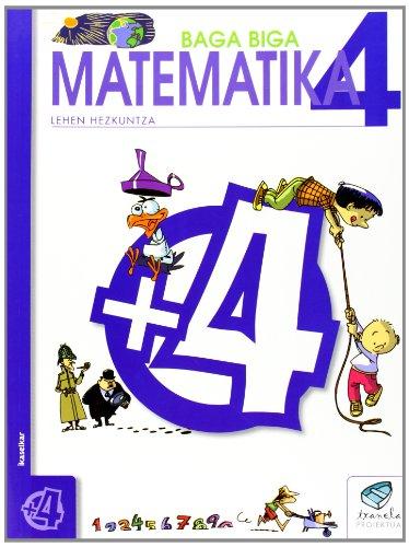 9788483319697: LH 4 -TXANELA- MATEMATIKA