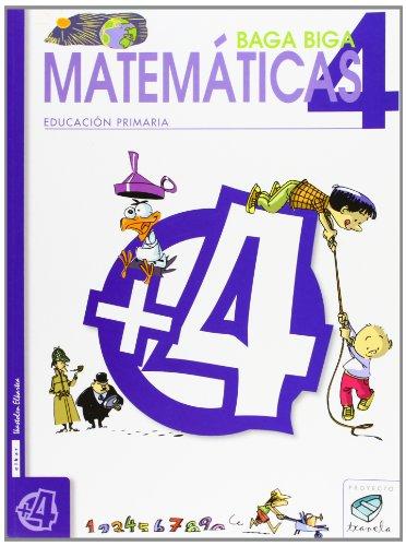 9788483319734: Txanela 4 - Matemáticas 4