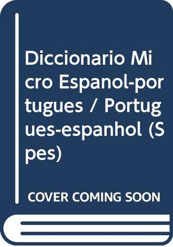 9788483322093: Diccionario Micro Espanol-portugues / Portugues-espanhol (Spes)