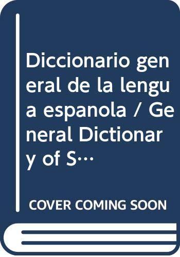 9788483323403: Diccionario general de la lengua española (CD-rom) (Spes)