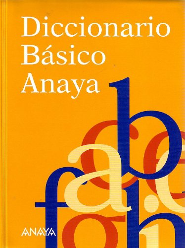 9788483324028: Diccionario basico Anaya/ Anaya Basic Dictionary (Spanish Edition)