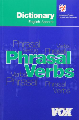 9788483324141: Dictionary of phrasal verbs English-Spanish (Spes) (Spanish Edition)