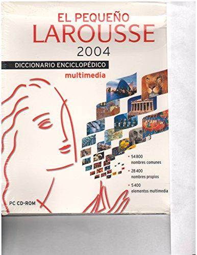 9788483324523: El pequeno Larousse CD-Rom 2004 / The Small Larousse 2004 CD-Rom (Diccionarios Enciclopedicos) (Spanish Edition)