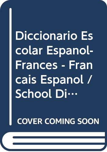 9788483324868: Dicc. Escolar Fra/esp - Esp/fra (Lengua Francesa)