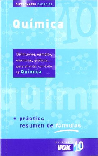9788483326589: Dictionaries Esencial/essential Dictionary: Quimica/chemistry (Coleccion Vox 10) (Spanish Edition)