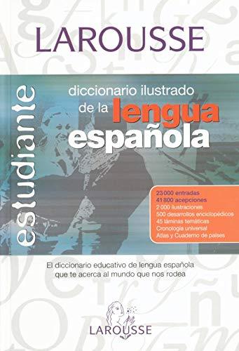 9788483326619: Dicc. Estudiante Lengua Española: Diccionario Ilustrado De Lengua Espanola