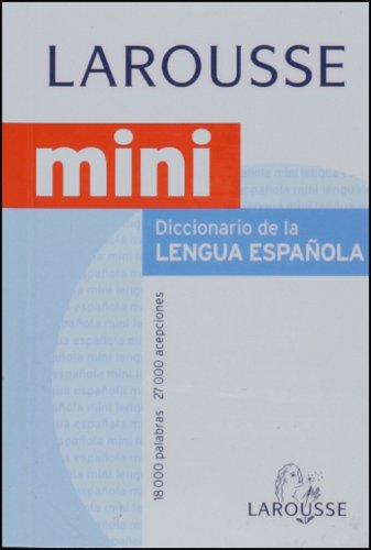 9788483326633: Dicc. Mini Lengua Española (18000 Palabras)