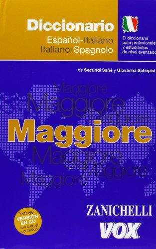 9788483327241: Dicc. Maggiore Ita/esp - Esp/ita