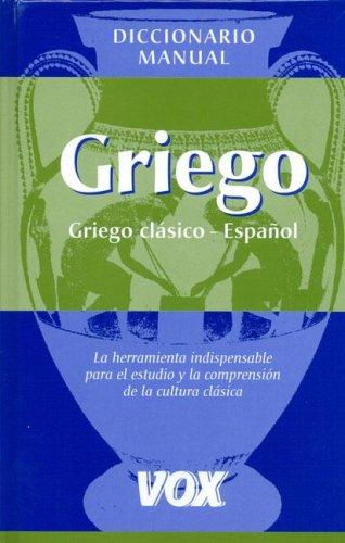 9788483328347: Dicc. Griego/español