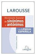 9788483328361: Dicc. Esencial De Sinonimos Y Antonimos