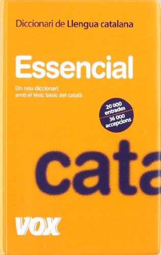 9788483329580: Diccionari Essencial de Llengua Catalana (Vox - Lengua Catalana - Diccionarios Generales)
