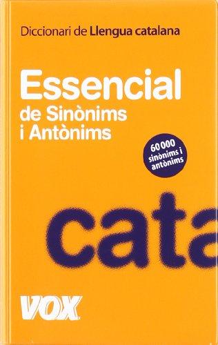 Diccionari essencial de sinònims i antònims (Vox