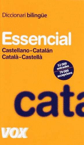 9788483329634: Diccionari Essencial Castellano-Catalán/Català-Castellà (Vox - Lengua Catalana - Diccionarios Generales)
