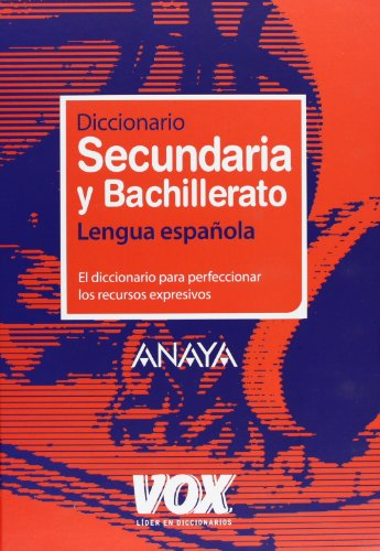 9788483329931: Diccionario Secundaria y Bachillerato / Dictionary of Middle School and High School: Lengua Espanola / Spanish Language (Spanish Edition)