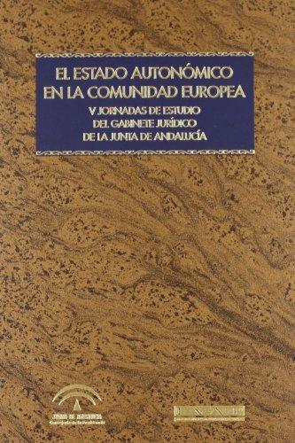 ESTADO AUTONOMICO COMUNIDAD EUROPEA: Carmen Carretero Espinosa