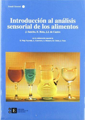 9788483380529: Introducción al análisis sensorial de los alimentos (BIBLIOTECA UNIVERSITÀRIA)