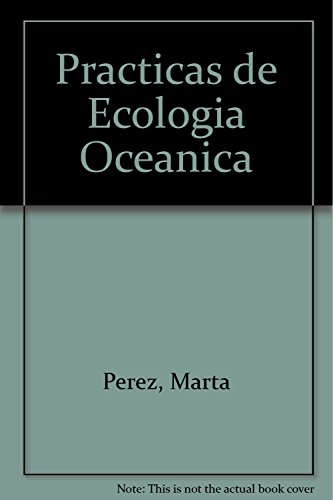 9788483382745: Practicas de Ecologia Oceanica